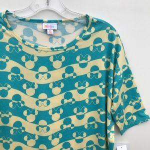 LuLaRoe Tops - LuLaRoe Disney Minnie Mouse Irma Shirt NWT #838